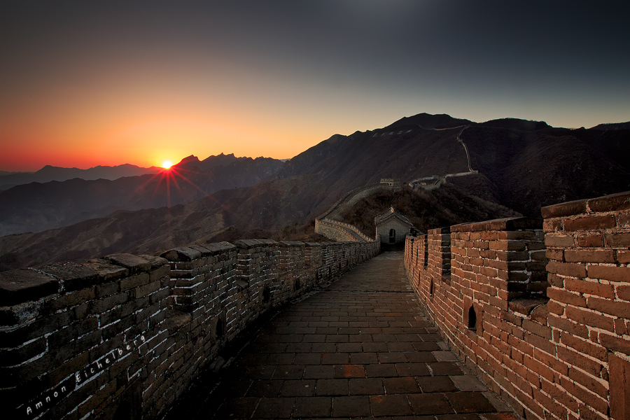 greatwallsunset